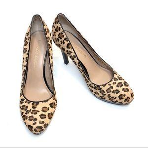 Franco Sarto Leopard Pumps Size 8W